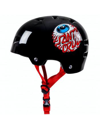 Шлем Bullet x Santa Cruz Eyeball Y Gloss Black 49-54