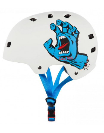 Шлем Bullet x Santa Cruz Screaming Hand Matt White 54-57