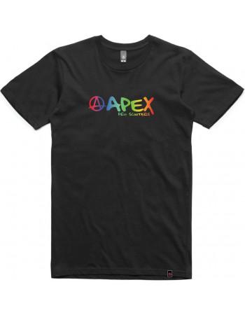 Футболка Apex Rainbow Black S
