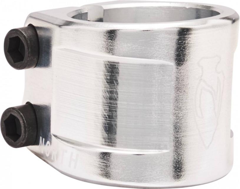 Зажим North Axe V2 Silver