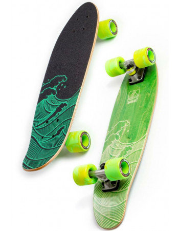 "LandYachtz Mini Dinghy Waves Green 26"""