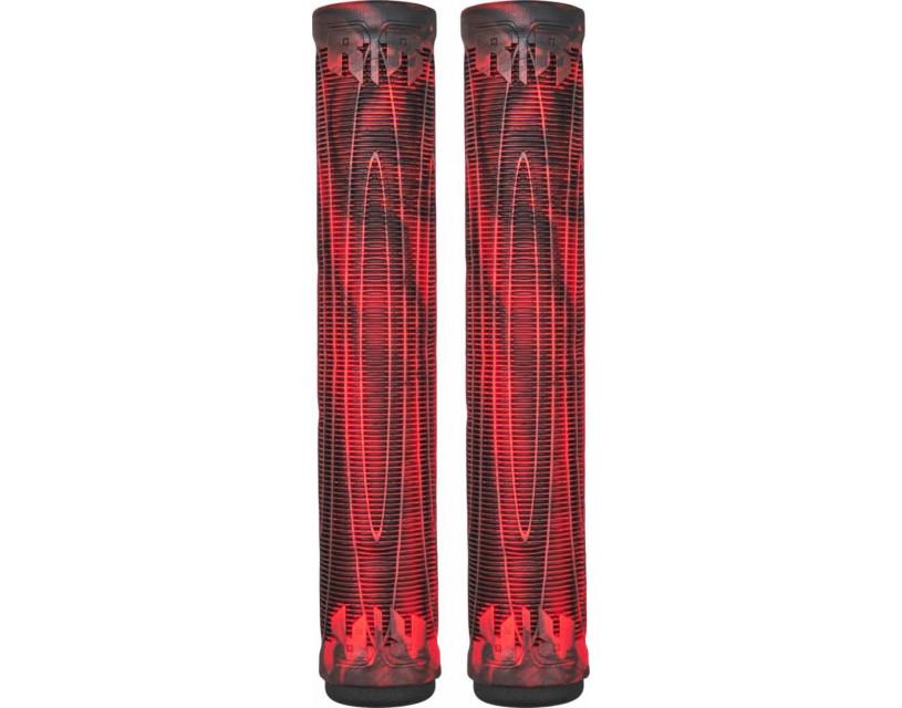 Грипсы AO Swirl Black/Red