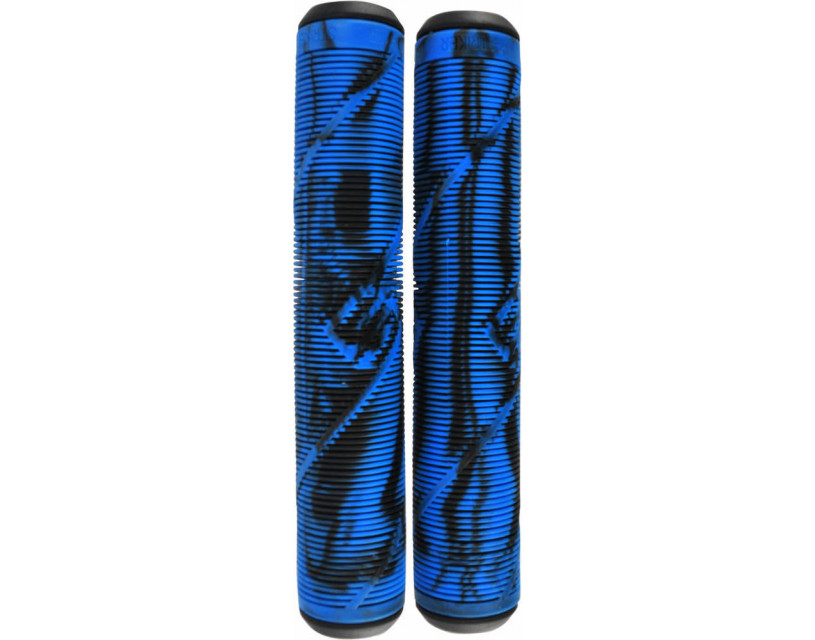 Грипсы Striker Logo Black/Blue