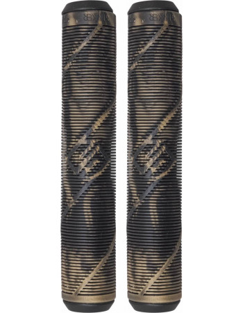 Грипсы Striker Logo Black/Gold