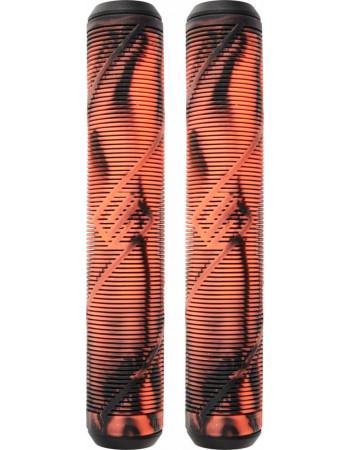 Грипсы Striker Logo Black/Orange