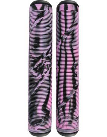 Грипсы Striker Logo Black/Pink
