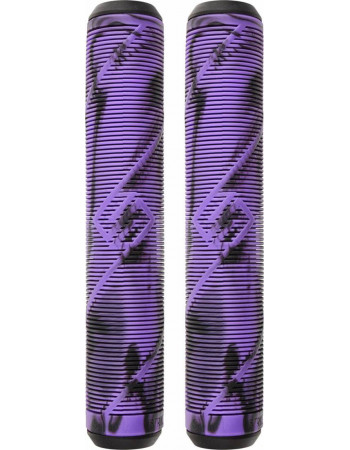 Грипсы Striker Logo Black/Purple