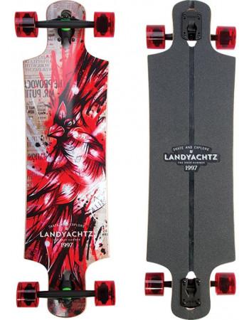 "LandYachtz Maple Drop Hammer Cardinal 36,5"""