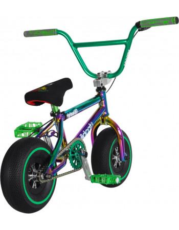 Mini BMX Wildcat Original 2C Joker Green/Black No Brakes