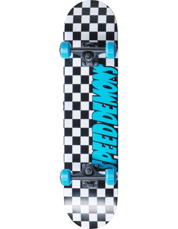 "Скейтборд Speed Demons Checkers Blue 7.75"""