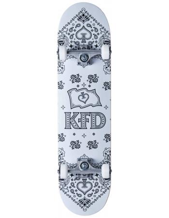 Скейтборд KFD Bandana White