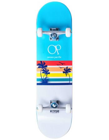Скейтборд Ocean Pacific Sunset White/Blue