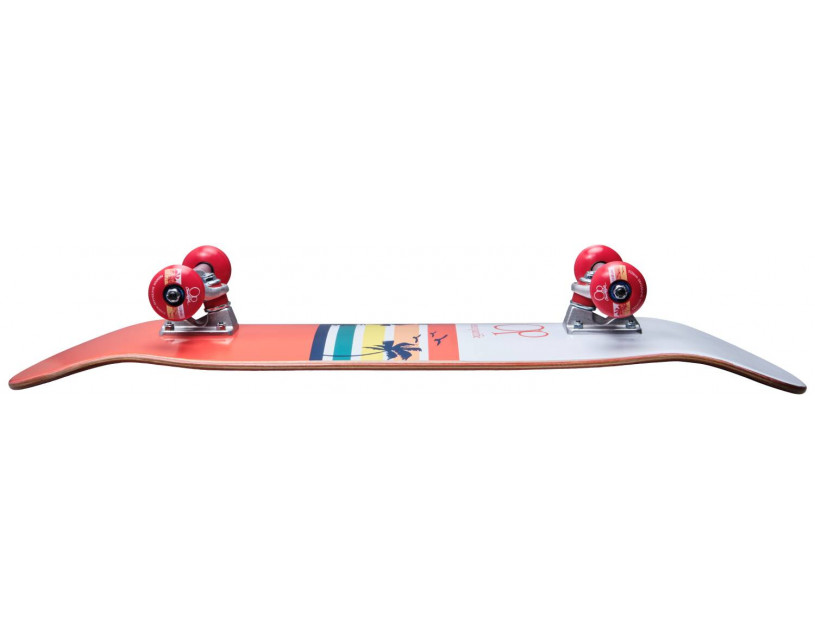 Скейтборд Ocean Pacific Sunset White/Red
