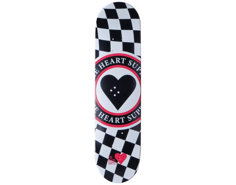 "Дека Heart Supply Insignia Check Black 8"""