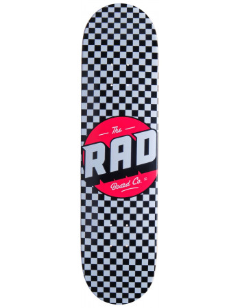 "Дека RAD Checker Black/White 7.75"""