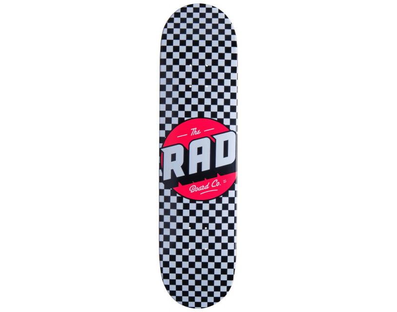 "Дека RAD Checker Black/White 8.25"""