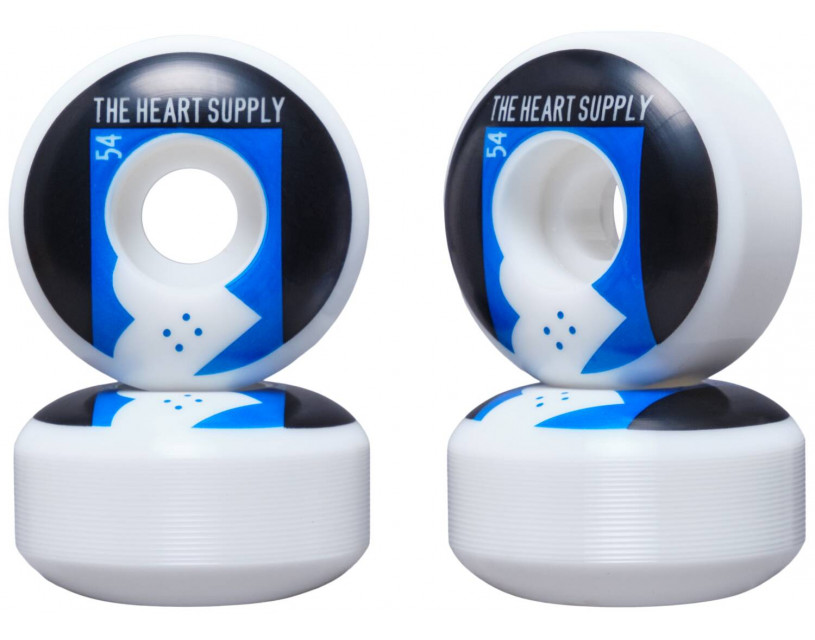 Комплект колес Heart Supply Even Blue 54 мм