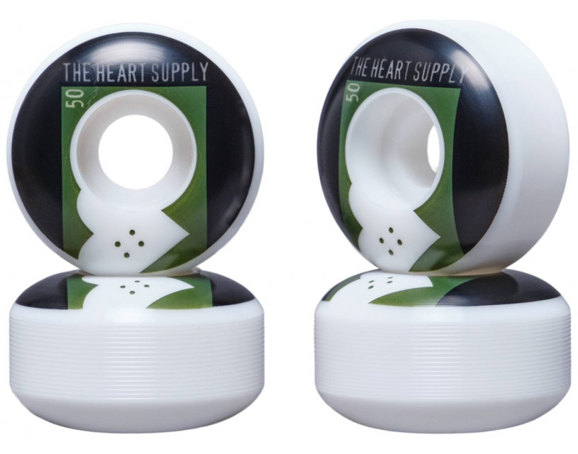 Комплект колес Heart Supply Even Green 50 мм