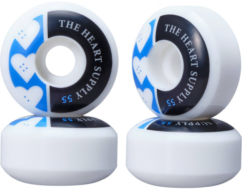 Комплект колес Heart Supply Squad Blue 55 мм