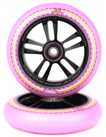Комплект колес AO Mandala 110 mm Pink