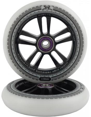 Комплект колес AO Mandala 110 mm Black/White