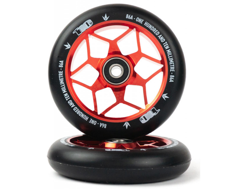 Комплект колес Blunt Diamond 110 Red