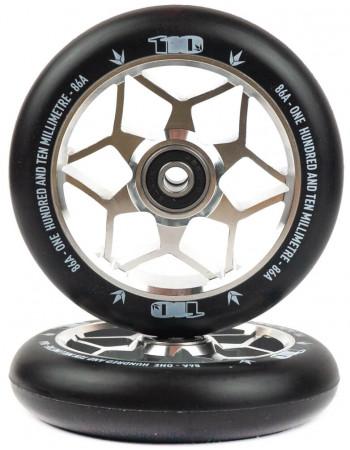 Комплект колес Blunt Diamond 110 Silver