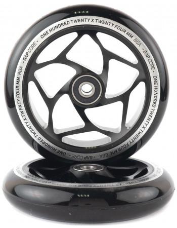 Комплект колес Blunt Gap Core 120 Black