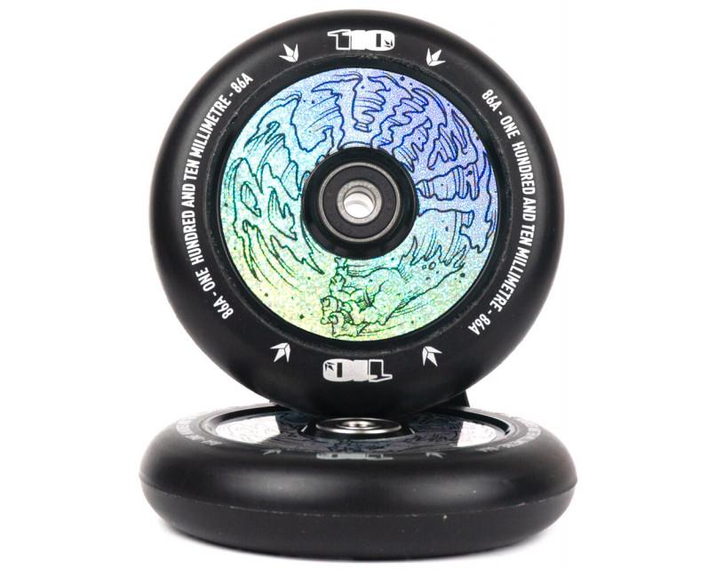 Комплект колес Blunt Hollow Hologram Hand 110 mm