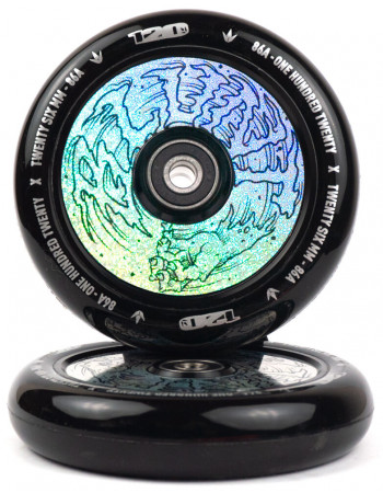 Комплект колес Blunt Hollow Hologram Hand 120 mm