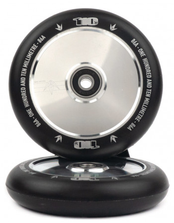 Комплект колес Blunt Hollow 110 mm Polished