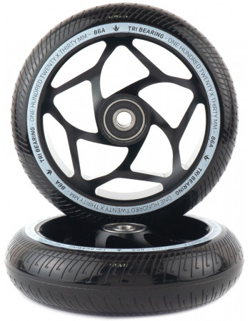 Комплект колес Blunt Tri Bearing 120x30 Black