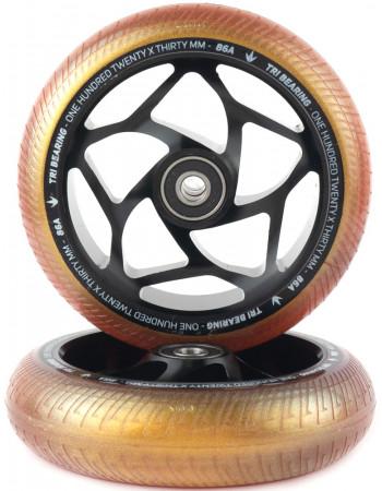 Комплект колес Blunt Tri Bearing 120x30 Gold