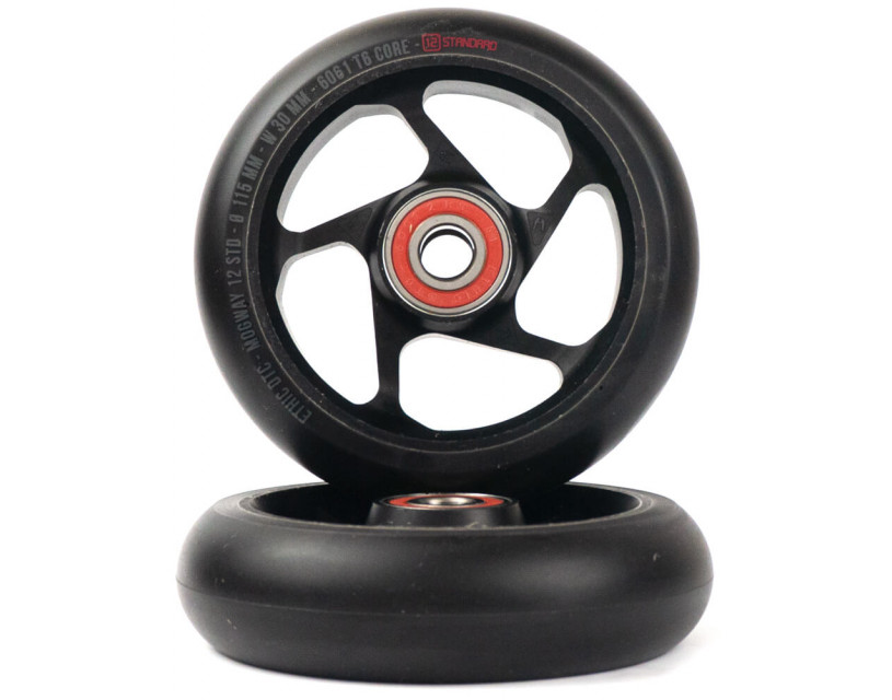 Комплект колес Ethic Mogway 12STD 115 mm Black