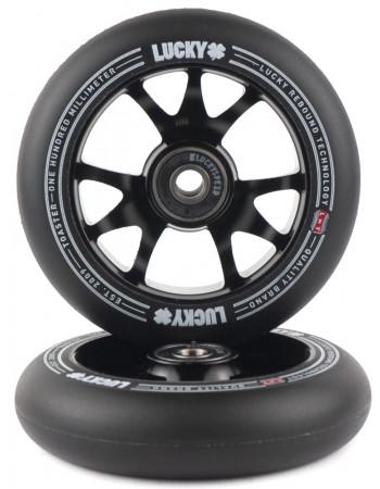 Комплект колес Lucky Toaster 100mm Black