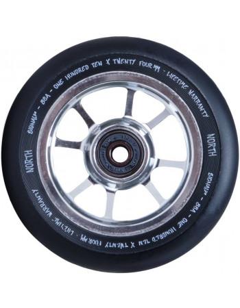 Комплект колес North Signal 110 mm Silver