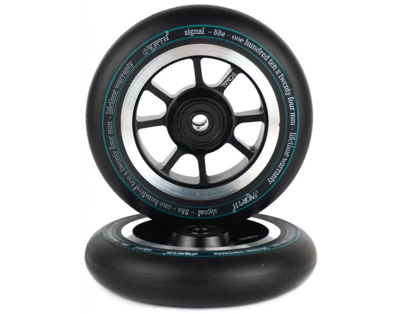 Комплект колес North Signal 110 mm Black