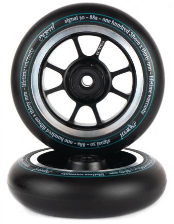 Комплект колес North Signal 115 x 30 mm Black