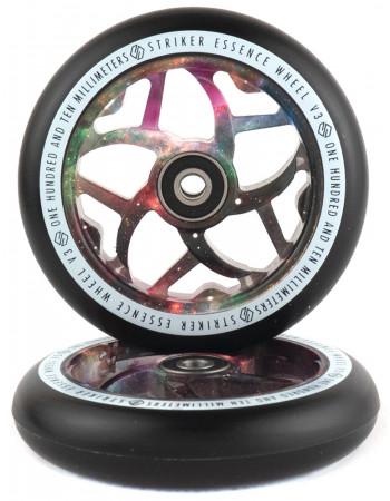 Комплект колес Striker Essence V3 Black/Galaxy Mix 110 mm