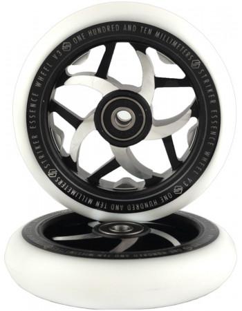 Комплект колес Striker Essence V3 White/Black 110 mm