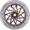 Комплект колес Striker Zenue Series Clear/Gold Chrome 110 mm
